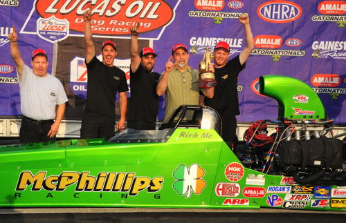 Rich McPhillips won in TAD with his injected nitro car
