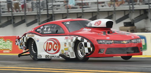 Wily veteran Rickie Smith scored in J&A Services Pro Mod class action.