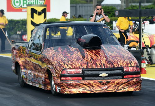 Super Gas winner Jim Perry