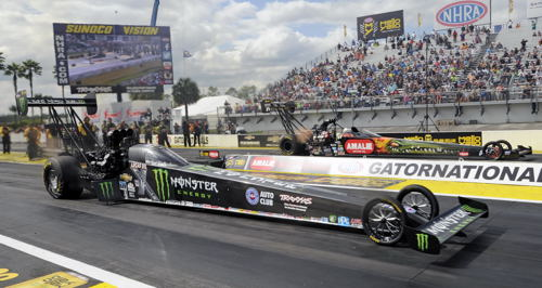 Gainesville's Top Fuel title run paired Brittany Force versus Terry McMillian.