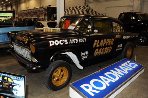 A classic '55 Chevy Gasser!