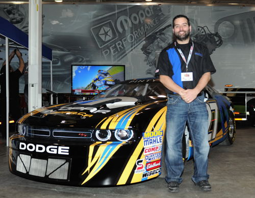 Jon Camillieri ( Mopar Canada's Marketing Manager) continued that brands extensive support for Canadian motorsports.