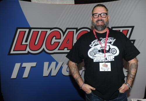 Canadian Motorsports enthusiast extra-ordinare Matt Irvine represented Lucas Oil Canada!