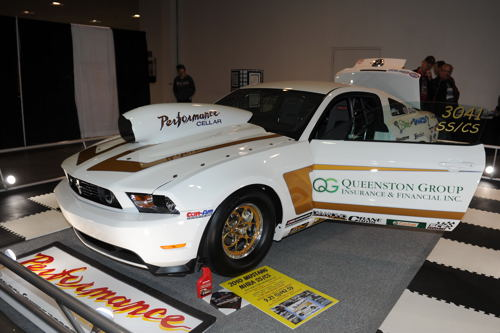 Stoney Creek's Venice Perno's 2010 Mustang SS/CS.