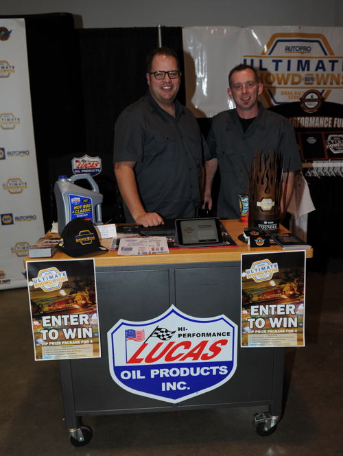 The USDRS and Lucas Oil featured a great display manned by Steve Martin and Brent Edmonstone.