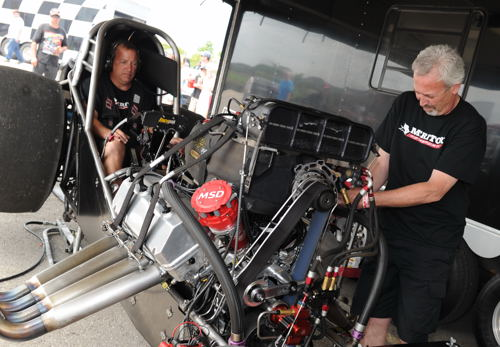 Paul Noakes and crew chief/tuner Les Mellows