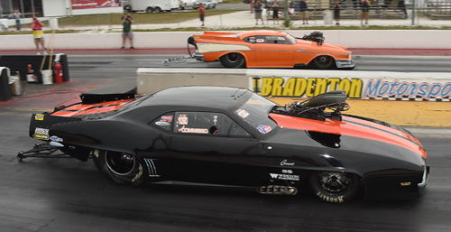 The VP Racing Fuels XPM final saw Ray Commisso score when his final round opponent Randy Adler succumbed to tire shake.