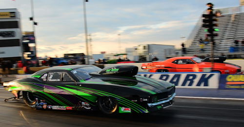 Tommy Franklin and Steve Fast produced the quickest side-by-side run in PN history.