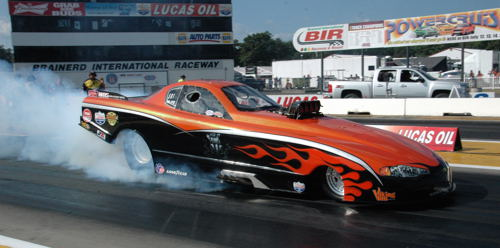 Scott McVey has made some serious enhancements to his Chevy-bodied TAFC for this season.