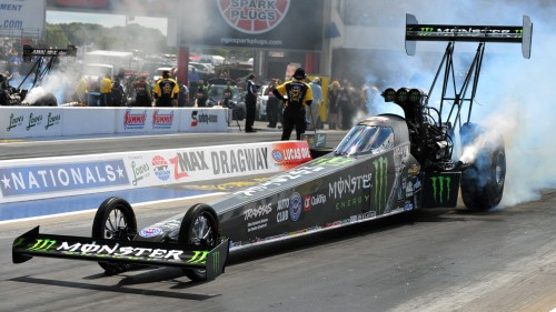 Brittany Force became the first female winner at NHRA's 4-Wide nationals