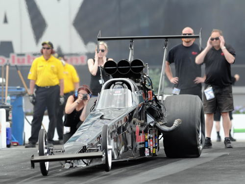 British Columbia's Cowie Racing Team made their first ever appearance at zMax Dragway.  They were the top qualifying Canadian car in TAD (5.279 secs) - but lost out in round #2.