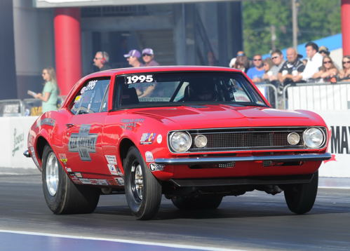 Ontario's Rob Carpenter was the top finishing Canadian racer overall at Concord - taking the Ottawa-based Gaffney Motorsports SS/GA '67 Camaro to the 5th round in Super Stock before losing out!
