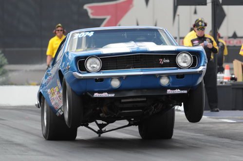 Brian Oakes qualified the Maritimes-based (ex John Armstrong SS/BA Camaro) #4 in SS with a .963 secs under run!