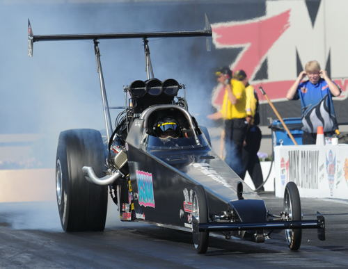 Ken Perry's 2nd NHRA national event of the season for 2016 - produced a #16 qualifying effort (at 5.496 secs)