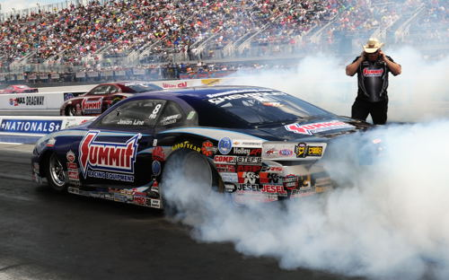 Jason Line collected career win #40 in Pro Stock
