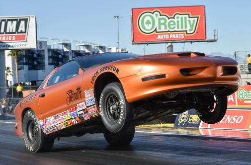 Casey Plaizier had a great effort in Stock - taking his C/SA Firebird to the 5th round before getting beat.
