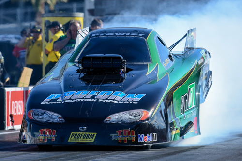 Greg Hunter drove Geoff Goodwin's Synoil-sponsored TAFC to the semi final round and recorded a career best 5.590 secs!