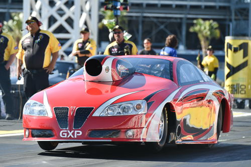 Mike Williams who is from Tilley AB - won two rounds in TS with his Pontiac GXP