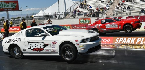Bob Blair (from DeWinton AB) roared to the #1 qualifying slot in Super Stock and then won his FSS/B class title.