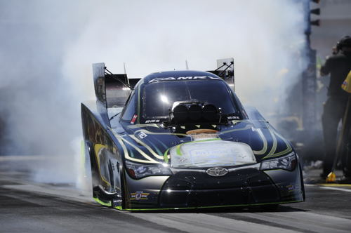 Alexis Dejoria won for the 4th time in her fuel FC career.