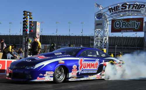 NHRA Pro Stock points leader Jason Line was once again a winner.