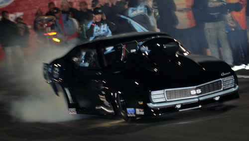 Travis Harvey won the P/N title with his Camaro