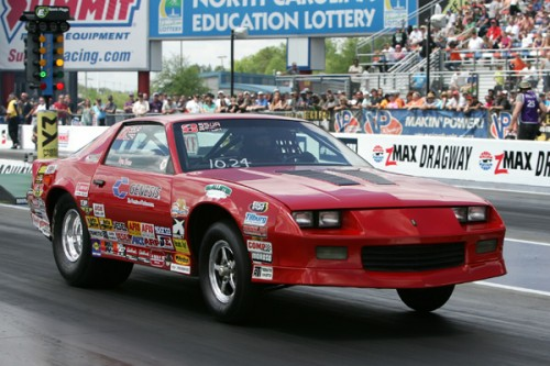 Bryan Worner won in Super Stock with his reliable Chevy Camaro