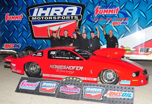 Canada's Konigshofer Brothers found IHRA victory lane last weekend racing in Texas.