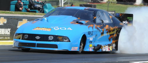 Kevin Fiscus had his best NHRA race so far - going to the final round.