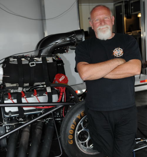 Bruce Boland - who is a 3X series champion for the PMRA - will try to become a USDRS champion this season - racing a supercharged Chevy Camaro
