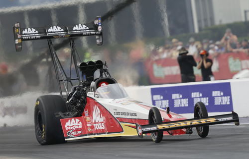 Doug Kalitta won the Houston-area NHRA race for the 3rd time in his career in Top Fuel