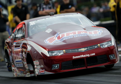 The Summit Racing team was once again dominant in Pro Stock - with Greg Anderson winning.