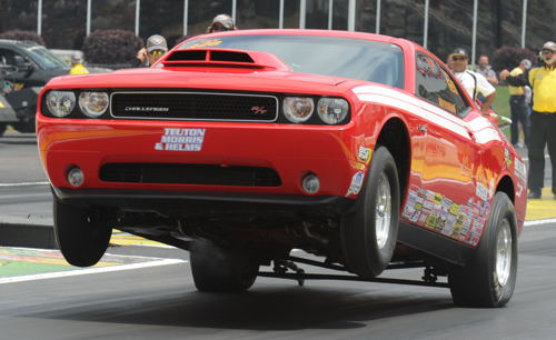 Defending World Champion Kevin Helms scored an emotional win in Stock eliminator with his Mopar DragPak
