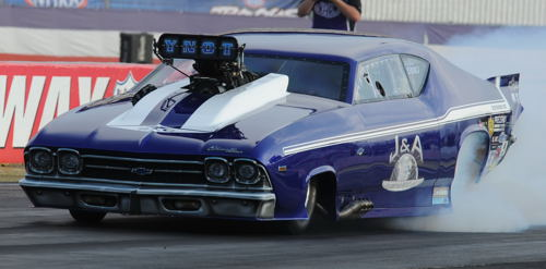 Steve Whitely won his first career NHRA Pro Mod event last weekend.