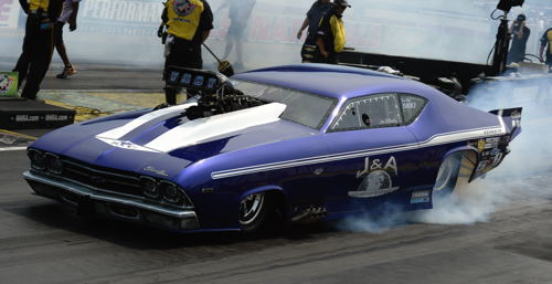 Steven Whiteley's 1st win in Pro Mod was rather unorthodox!