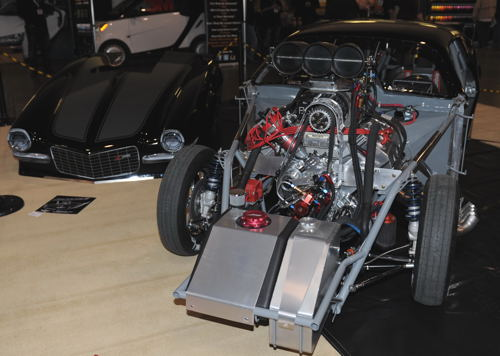 Roger Jongerden's new Pro Mod Camaro - cleaned up at March's Motorama Car Show last March.