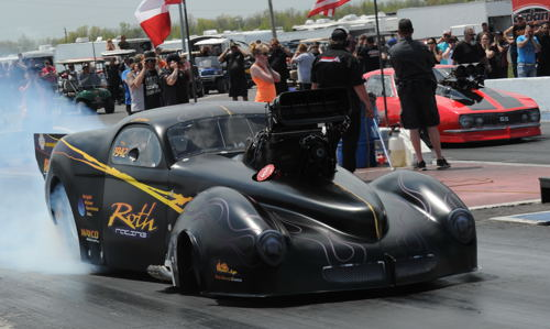 Jeff Roth's all new Vanishing Point-built Pro Mod Willy made it's debut!