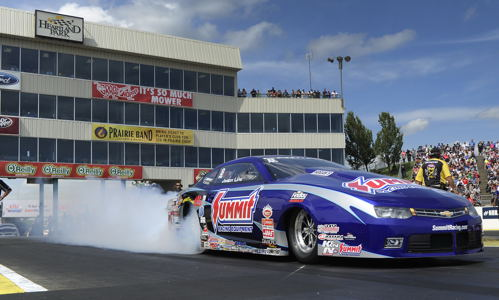 Jason Line continued Summit Racing's absolute domination of Pro Stock class racing.