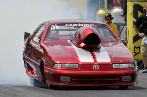 For sure one of the coolest Mopar cars at Epping was this Dodge Daytona driven by Michel Bastien.