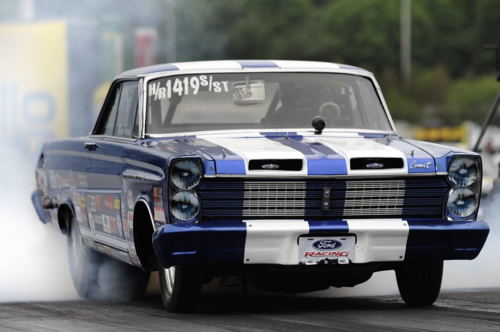 Mark Proulx Osgoode ON-based '65 Comet continues to stand the test of time in S/ST racing.