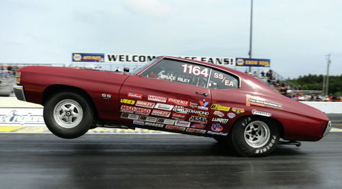 Bruce Reilly (from Nova Scotia) entered his tried and true Chevelle SS/EA car.
