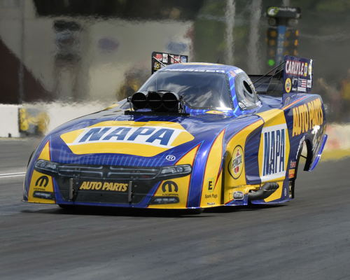 Ron Capps collected his 47th career win in NHRA drag racing.