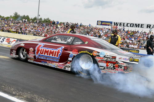 Greg Anderson continued Summit Racing's dream season in Pro Stock with another victory.