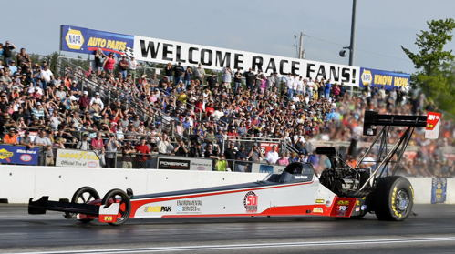 Canadian Todd Paton produced an inspiring story in Top Fuel with some career best times and an upset win in round #1.
