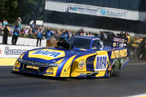 Ron Capps maintained his winning momentum from Epping at Englishtown.