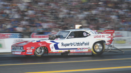 Jason Rupert covered the GBM surface with a super quick 5.602 secs at 244.82 mph to qualify #1