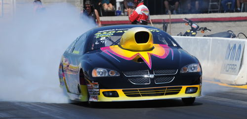 Michigan's John Hochstedler collected a big win in TS with his Mopar on Sunday