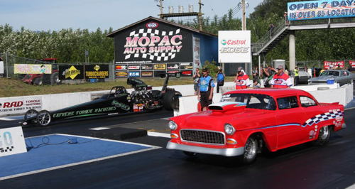 Dan Provost, Abbotsford wheeled his TD classed car to the Super Pro title defeating the '55 Chevy of Zachary Liston in the final.