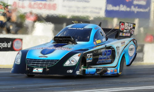 Californian Jeff Diehl will make a return to the Canadian Nitro Nationals racing his Toyota-bodied Funny Car