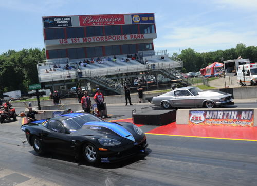 Pompilio bested Mark Micke's Corvette in the Outlaw 10.5 final round.